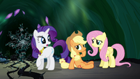 """Rarity """"the tree remains in jeopardy"""" S4E02"""