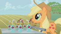 S01E04 Applejack przyniosła sok z jabłek dla przyjaciółek