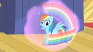 S01E06 Rainbow pada ofiarą zaklęcia Trixie