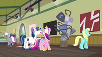 """Shining Armor """"is this art or... a mistake?"""" S7E3"""
