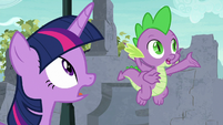 """Spike """"part of the Tree of Harmony"""" S9E3"""
