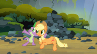 Spike and Applejack favorite song S03E09