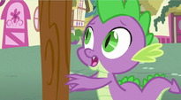 Spike sees balloon flying away S3E09