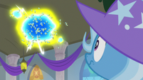 Swarm of flash bees appears over Trixie S9E20