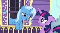 "Trixie smug ""great idea, Princess Twilight"" S6E25"