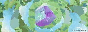 Twilight and Spike trapped Facebook promo