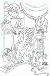 Friends Forever issue 3 cover A uncolored