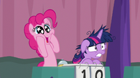 Pinkie Pie ecstatic; Twilight flabbergasted S9E16