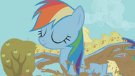 S01E13 Rainbow osłania pisklęta przed błotem