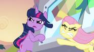 S02E22 Fluttershy i Twilight dzielnie się trzymają
