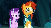 Starlight and Sunburst happy to see Maud S7E24