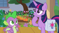 Twilight starting to get very anxious S9E5