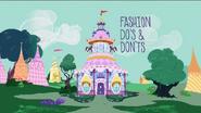 ZKKM 01 Karta tytułowa do odcinka 'Fashion Do's and Dont's'