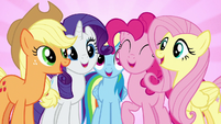"""Main five singing """"we're not flawless"""" S7E14"""