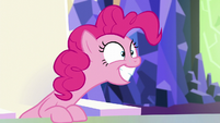 Pinkie grins and squees S5E19