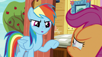 "Rainbow Dash ""is what you do"" S9E12"