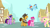 """Rainbow Dash """"making this party epic"""" S4E12"""