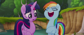 """Rainbow Dash """"not getting all the glory"""" MLPTM"""