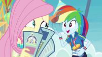 """Rainbow Dash """"pretty great, right?!"""" EGROF"""