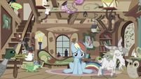 Rainbow Dash miserable S03E13