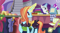 """Rarity """"already hemmed, ruched, and cut"""" S7E6"""
