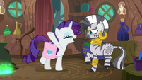 """Rarity """"your cure is working already!"""" S8E11"""