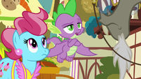 "Spike sarcastically ""you think?"" S9E23"