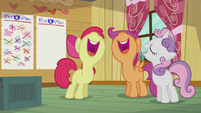 The CMC title-drops the song S5E18