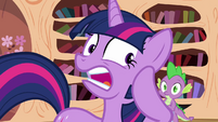 Twilight tries to find her quills S3E01