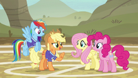 """Applejack """"you aren't bad anymore"""" S6E18"""