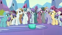 Depressed Crystal Ponies shocked S3E02