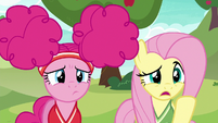 """Fluttershy """"you want us to play buckball"""" S6E18"""