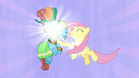 Fluttershy powers element of kindness with Meadowbrook S7E26