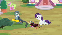 Gabby looks confused at Rarity S9E19