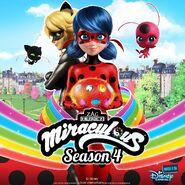Miraculous Ladybug season 4 poster