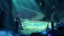 Pinkie Pie sees the Mirror Pool S3E03.png