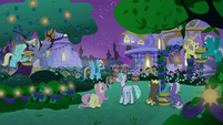 RD and Fluttershy talk to Feather Flatterfly S9E17