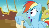 """Rainbow Dash """"careful when dancing"""" S8E5"""