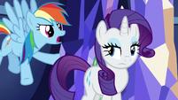 "Rainbow Dash ""it's Twilight's home!"" S5E3"