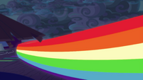 Rainbow Dash speeds out of pool area EGSB