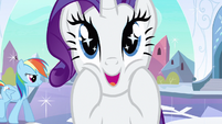 Rarity sparkling eyes S3E1