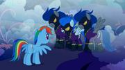 S01E02 Shadowbolt składają Rainbow propozycję.png