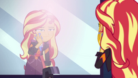 Sunset Shimmer cleaning paint off her face EGSBP