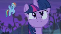 Twilight's face of confidence S4E07