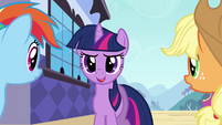 Twilight 'we're going to the Crystal Empire' S3E01