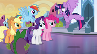Twilight attempting to fly EG