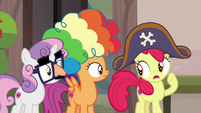 Apple Bloom -my brother's super shy- S7E8