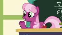 "Cheerilee ""your cart has to be able to finish"" S6E14"