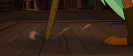 Close-up on Captain Celaeno's peg leg MLPTM