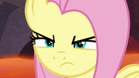 Fluttershy with angered determination S9E9